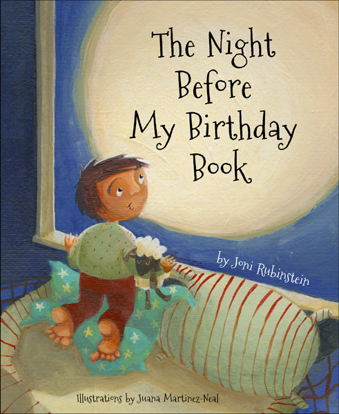 The Night Before My Birthday Book Jacket Cover